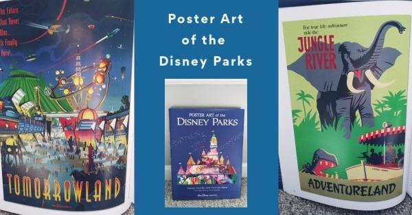 poster art of the disney parks