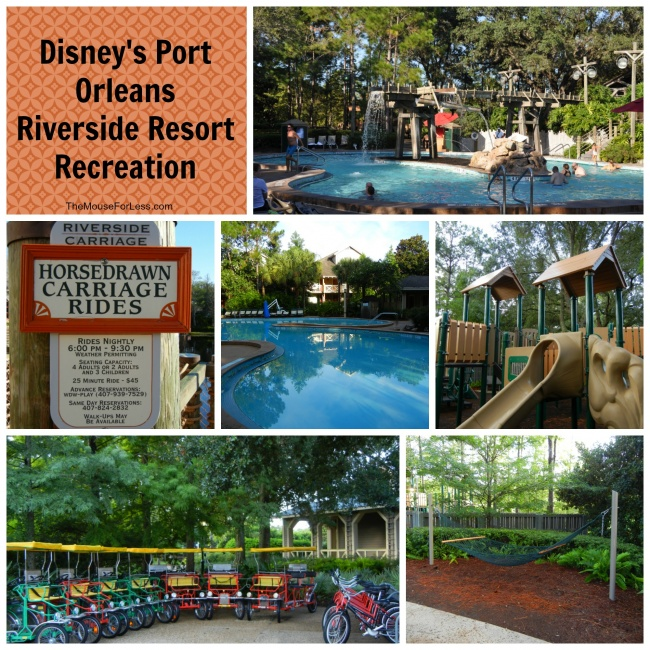 Disney's Port Orleans Riverside Recreation