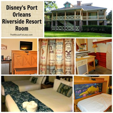Disney's Port Orleans Riverside Room