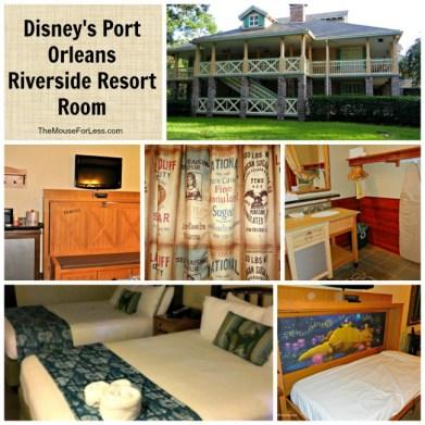 Disney's Port Orleans Riverside Room