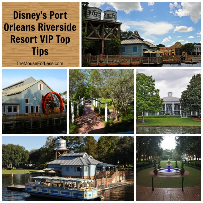 Disney's Port Orleans Riverside VIP Top Tips