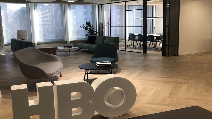 Creando los clásicos del futuro. Nueva sede HBO en Madrid.