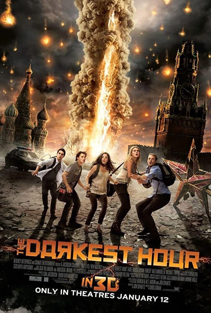 The Darkest Hour (2011) Hindi English | Dual Audio 720p BDRip x264 800MB Download