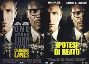 Changing Lanes Movie poster