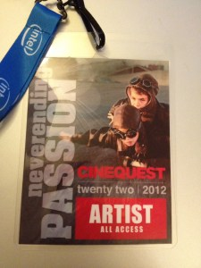 Cinequest Film Festival Artist Badge