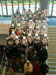 Stormtroopers at Wonder-Con
