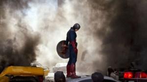 The Avengers movie still - Captain America