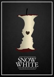 Alternative art poster for Disney's Snow White