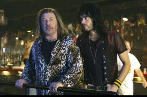 Russell Brand and Alec Baldwin