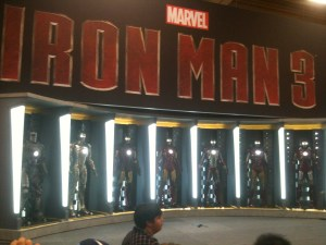 Iron Man 3 Display at Comic-Con