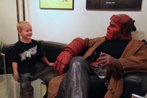Ron Perlman/Hellboy