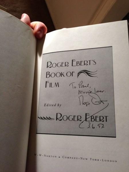 Roger Ebert signature
