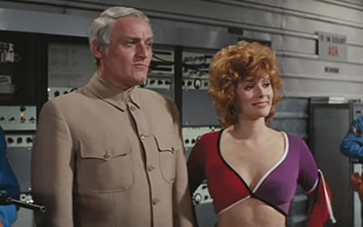 Charles Gray and Jill St John in Diamonds Are Forever