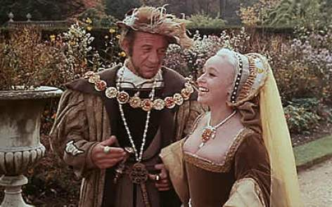 Image result for carry on henry VIII