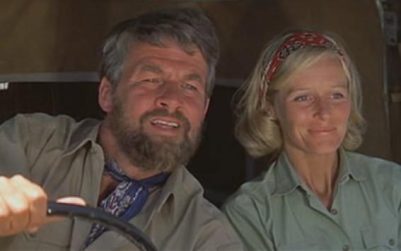 Image result for virginia mckenna and bill travers in born free