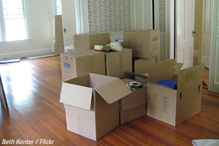 Cheap ways to pack for a move