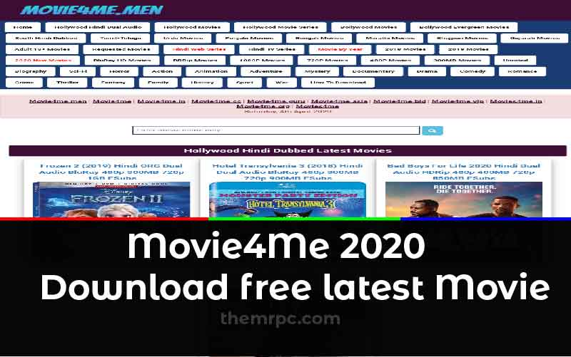 Movie4Me 2020: Download Latest Hollywood, Bollywood & Hindi Dubbed Movies  Free