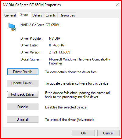 fix Nvidia driver crash update driver