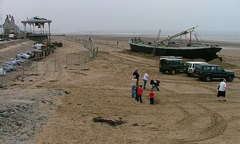 English: Dunkirk - Redcar's Latest Tourist Att...