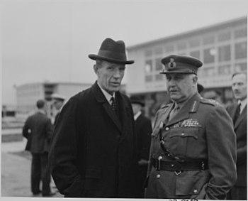 Photograph of Lord Halifax, British Ambassador...