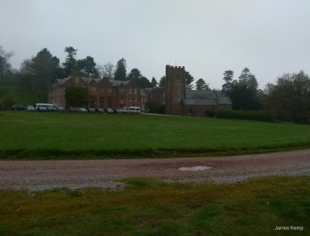 Nettlecombe Court in Somerset from the drive. (photo: James Kemp)