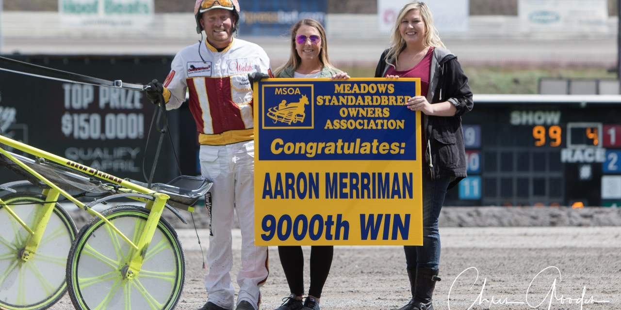 MSOA congratulates Aaron Merriman on win #9000