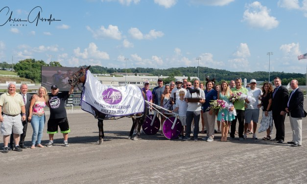 Southwind Ozzi wins Adios in 1:48, second-fastest ever