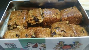 Gooey Breakfast Bars - ready to go and yummy to eat