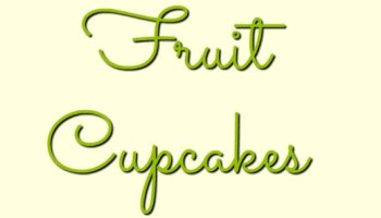 Summer Fruit Cupcakes made with frozen fruit, easy peasy and a little bit healthier too!