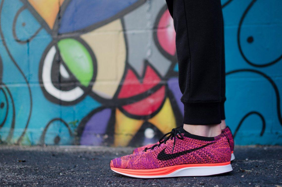 nike shoes graffiti background