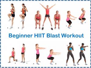 Beginner HIIT Blast Workout