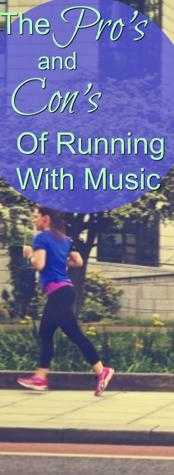 Is running with music for you? Here are the pro's and con's so you can decide for yourself