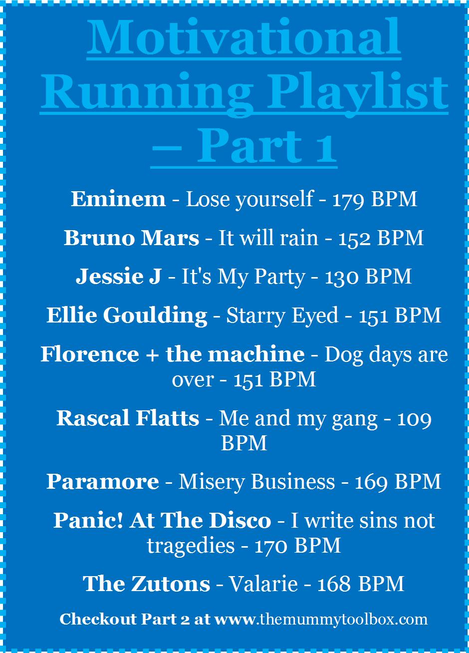 motivational playlist part 1