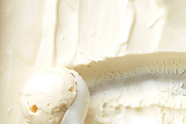 Vanilla Ice Cream From - egg yolk recipe