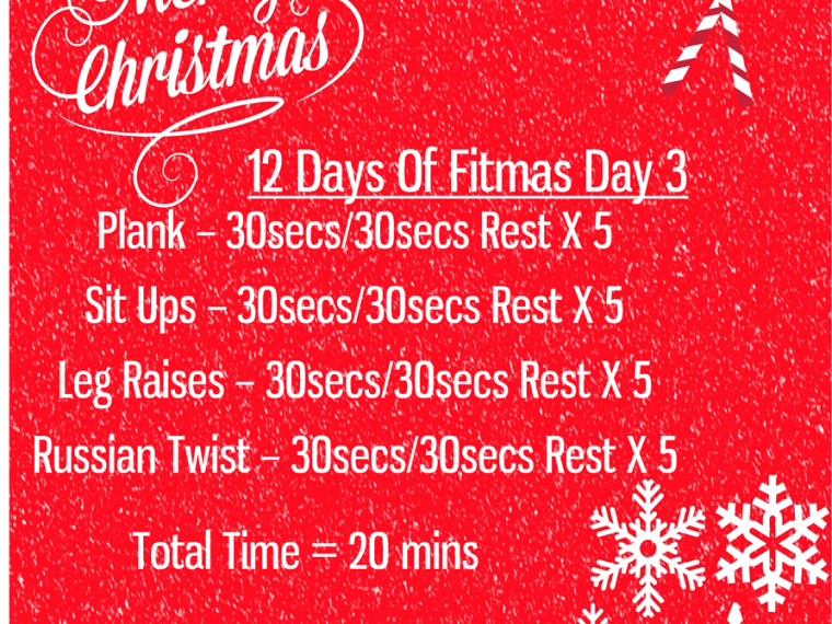 The 12 Days of fitmas - Day 3