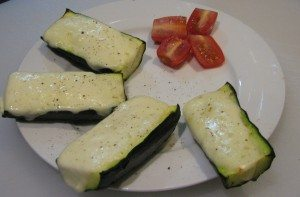 Mozzarella & Pepper Courgettes The Mummy Toolbox