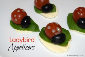 Natasha's Ladybird Appetizers - My Fab Foodie Favourite on YumTum linky week2