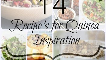 14 Recipe's for Quinoa Inspiration - healthy, packed full of protein and tasty too! here are some ways to make quinoa more exciting for breakfast, lunch or dinner (or even dessert)