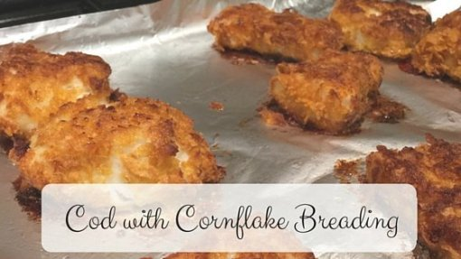 Cuddle Fairy Cod with Cornflake breading - most clicked on #YumTum 8