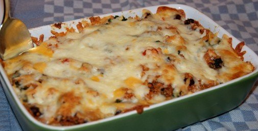 Mexican Kale and Quinoa Bake on Vegetarian Gourmet