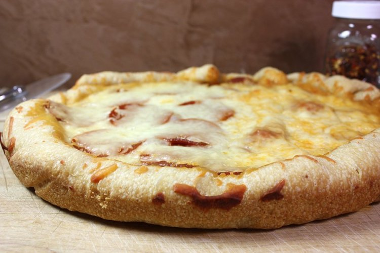 slow cooker pizza by Don't Sweat The Recipe