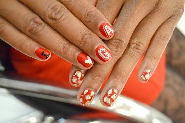 I Love GA - Netball Nails by Sophy Robson