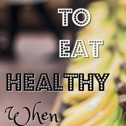 7 ways to eat healthy when you're broke. How to avoid the trap of buying ready meals to save money and also eat right for your whole family! Sharing tips that actually work and that I used as a struggling family.