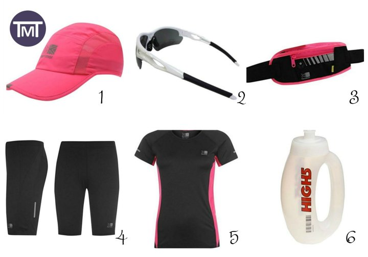 Summer Running Essentials - Tried and tested products I own