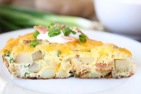 Spinach & Potato Frittata