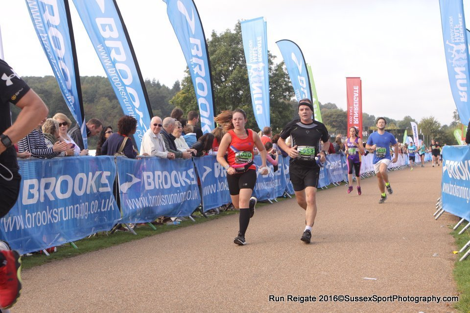 Heaving Breathing to get over the finish line - Image by Sussex Sport Photography