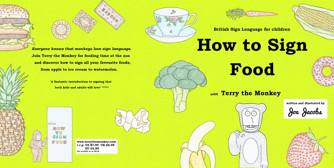 How to sign food front cover