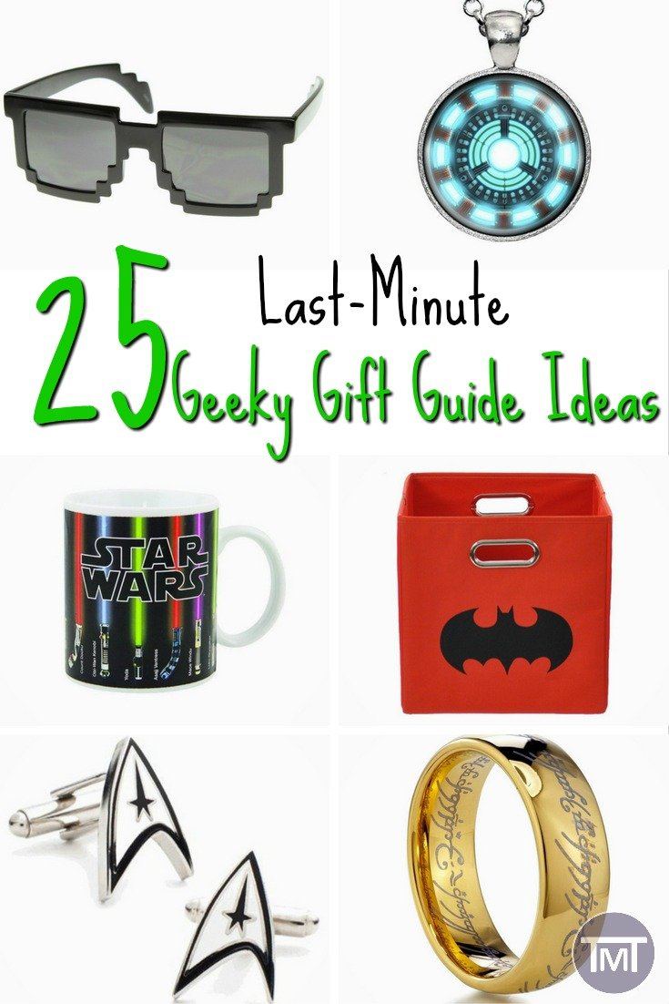 25 Last Minute Geeky Gift Guide Ideas