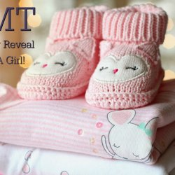 TMT gender reveal its a girl feature image