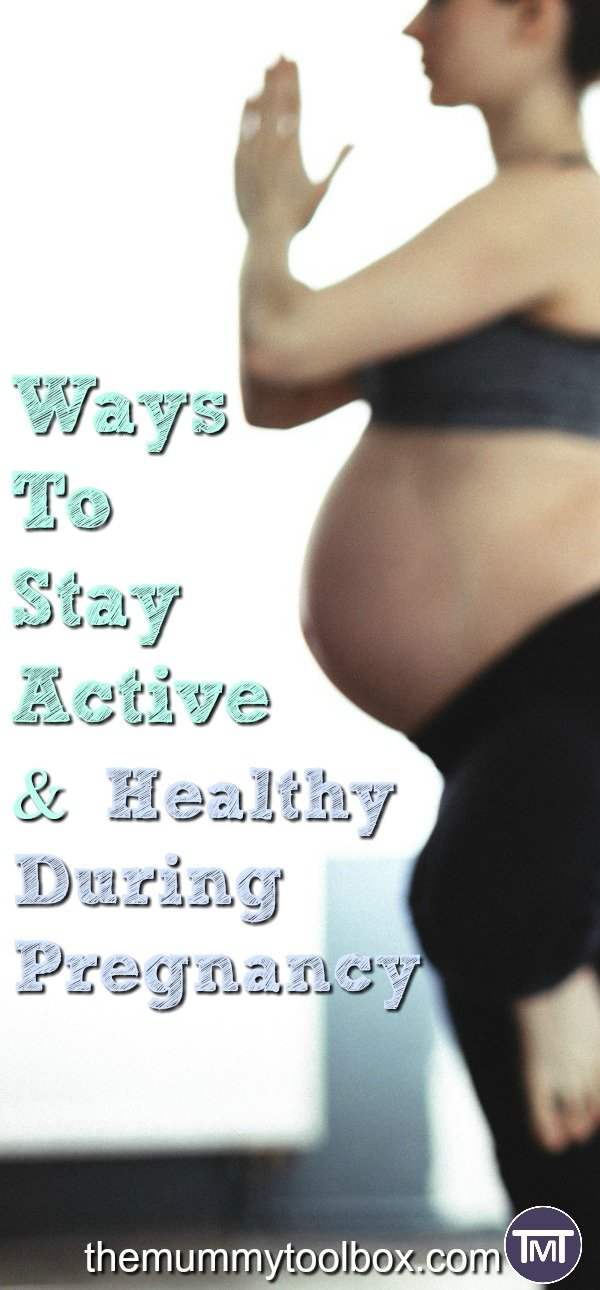 An active pregnancy is important for your health as well as your recovery and here's some of the ways to stay healthy and active during pregnancy.